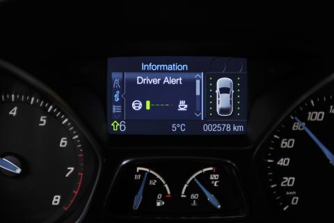 Nya Ford Focus belönas med EuroNCAPs Advanced-utmärkelse för Driver Alert-systemet