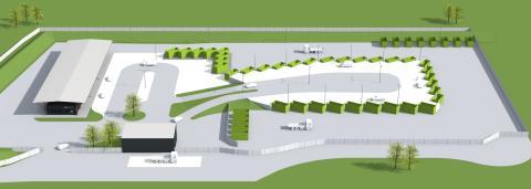 Pressbild: Ombyggnad ÅVC Ängelholm
