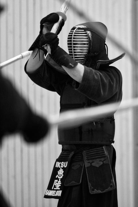 Erik Samuelsson från Umeå till kendo-EM i Makedonien.