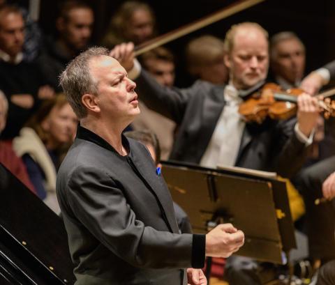 Filharmonikerna Beethoven och Sibelius