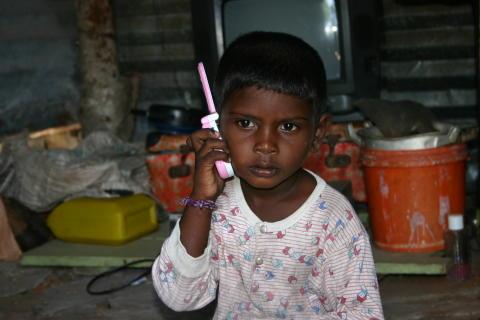 Bönedag för världens barn 5 oktober