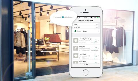 Nu blir det enklare att hitta butik i appen Sparakvittot