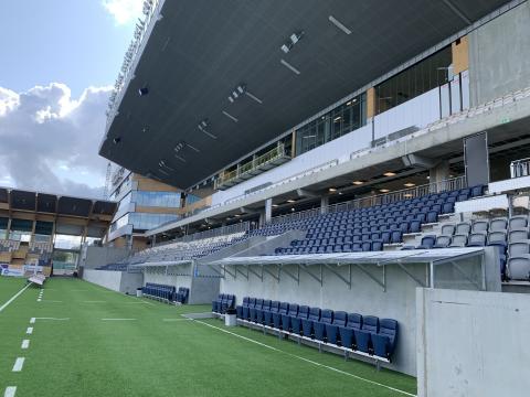 Schneider Electric deltar i bygget av fotbollsarenan Studenternas i Uppsala