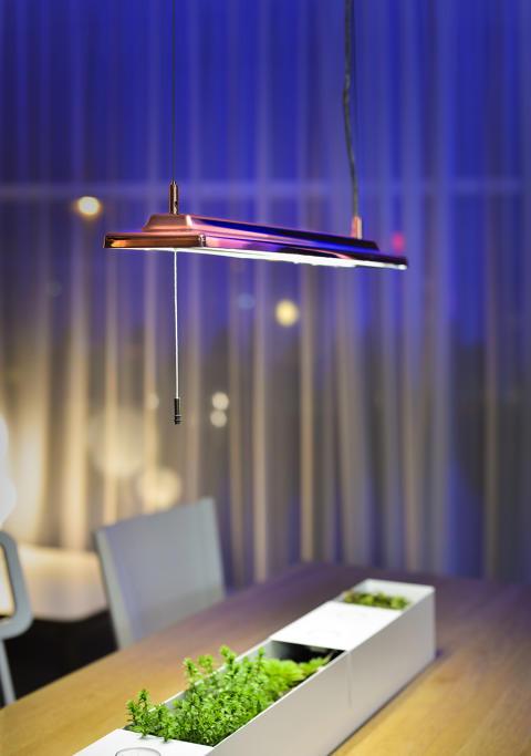 LED takbelysning Alioth från Proton Lighting i koppar