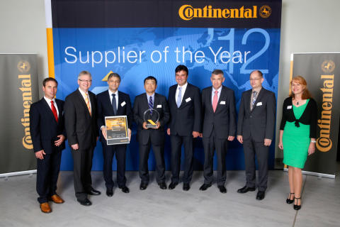 "Supplier of the Year 2012: ROHM receives ""Quality Award"" from Continental: Special prize for improved quality With its annual awards, Continental's Automotive Group commends outstanding performance among over 900 strategic suppliers"