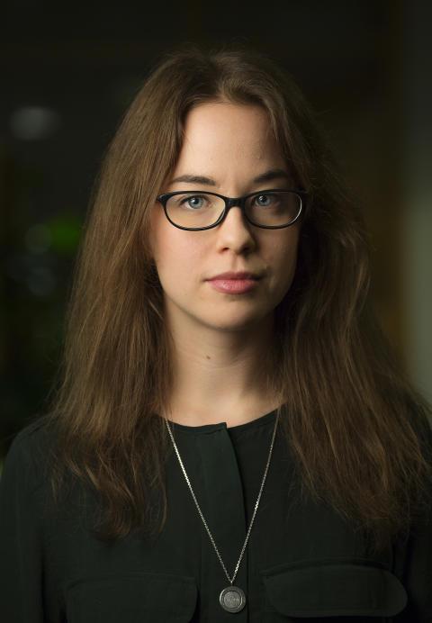 Sara Wizén, insamlingsansvarig