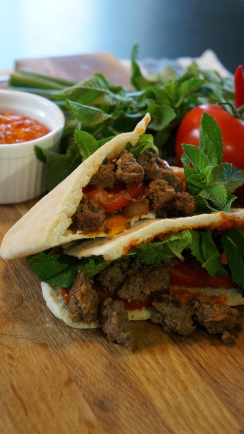 Amirs kebab i pitabröd för ViktVäktarna