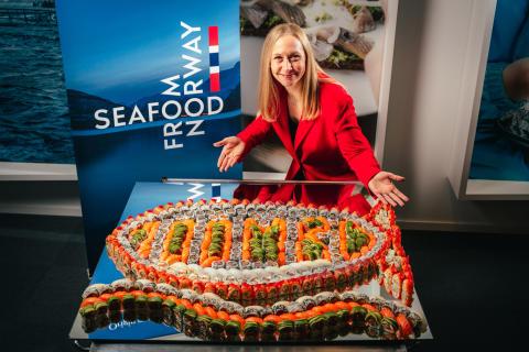Norwegian seafood exports will exceed NOK 100 billion this week