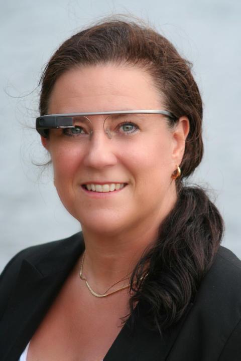 Umeåelever i skattjakt med Google Glass