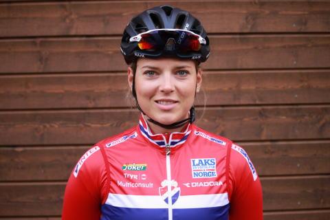 Thea Thorsen på sykkellandslaget 2017