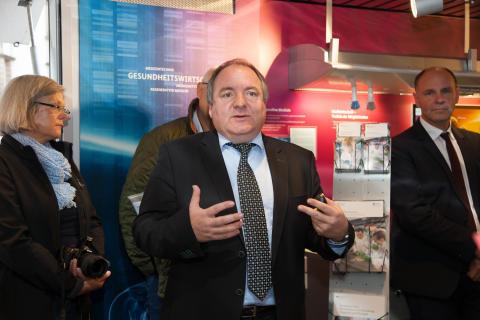 BioTechnikum in Singen: Personalleiter Lothar Bottlang