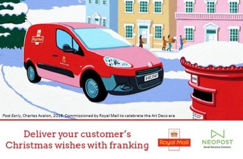 Deliver your customer's Christmas wishes with franking