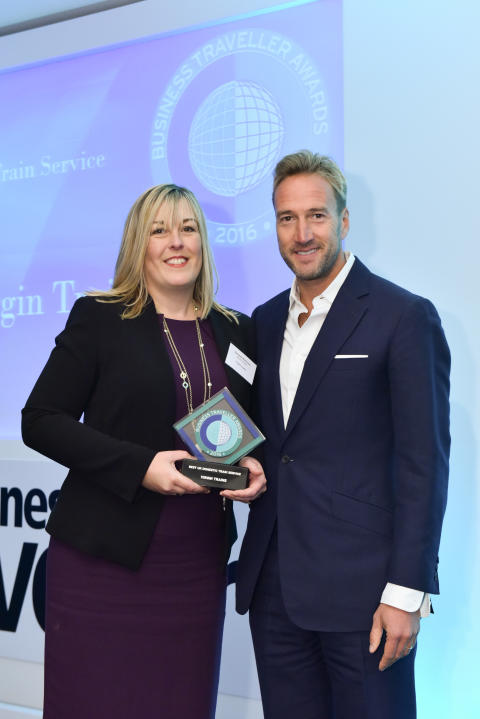 Virgin Trains named Best UK Domestic Train Service at Business Traveller Awards 2016