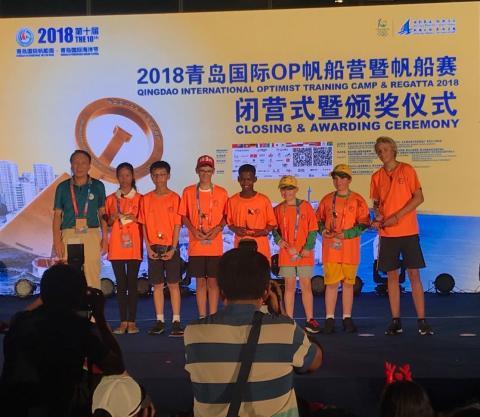 Länderverteter aller Nationen zur Qingdao Sailing Week