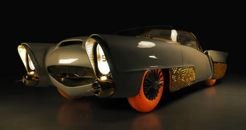 Golden Sahara II med Goodyear-däck
