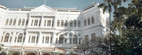 Raffles Hotel_Modernt hotell i historiska omgivning