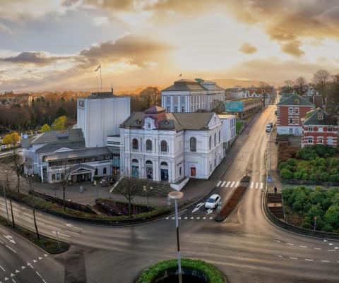Statsbudsjettet 2020 - Spenner bein under nytt teaterhus