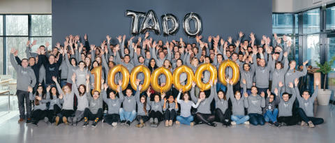 tado° 1 Million Smart Thermostats