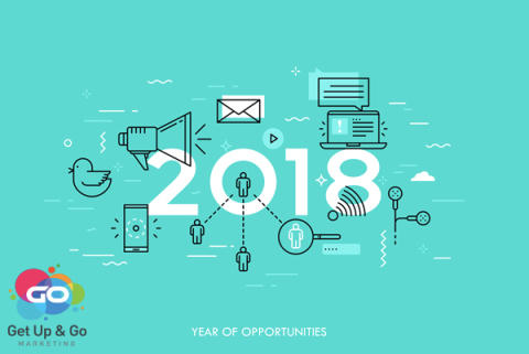 Get Up and Go Marketing question if the competition is anticipating top social media trends in 2018