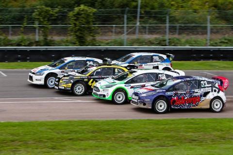 Starkt startfält i RallyX Supercar-finalen på Solvalla