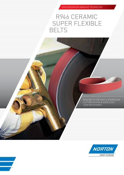 Brochure Norton R946 belts