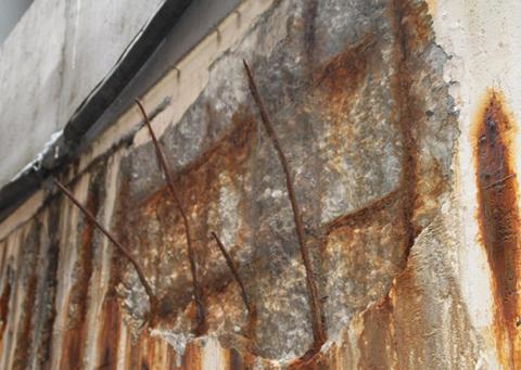 Tips för reparation av skadad betong