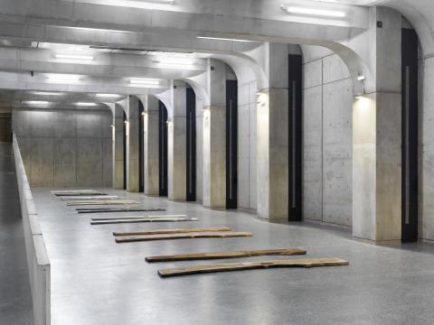 Konstnär och arkitekter i unikt samarbete på Skeppsbron