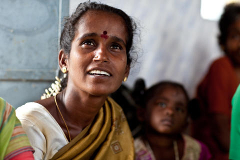 kvinna från Indien