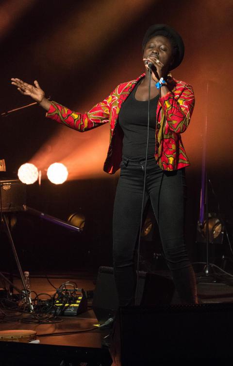 Rohey Taalah opptrer på Oslo Jazzfestivals Hyllest til Joni Mitchell