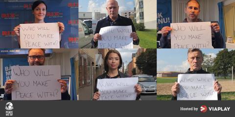 Viaplay vill sprida budskapet om Peace One Day