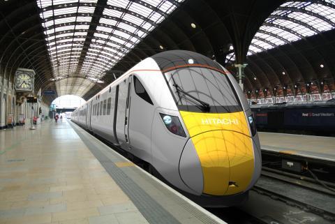 Hitachi Intercity trains begin digital signalling tests
