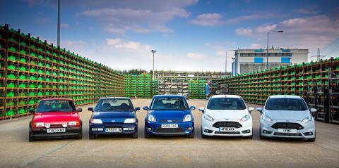 Ford Fiesta fylder 40 år