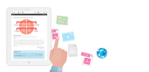 Bygg ut Gleerups interaktiva böcker med eget material