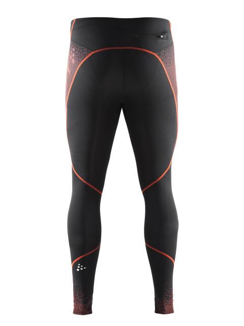 Delta Compression long tights för herr i färgen black/heat