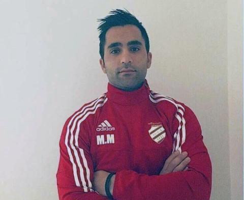 Musse Merzi, tränare i Högadals IS