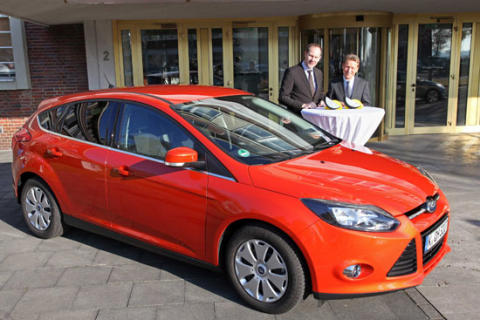 Uusi Ford Focus sai lisää Euro NCAP:n erityistunnustuksia edistyksellisistä turvajärjestelmistään