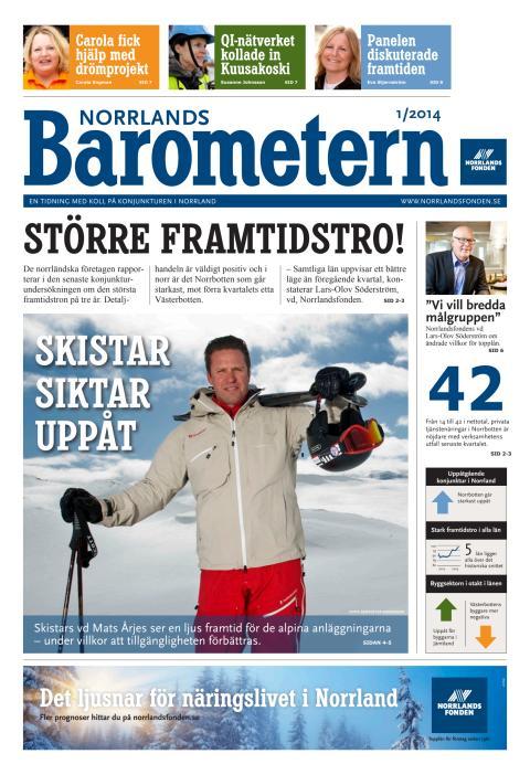 Norrlandsbarometern 1/2014