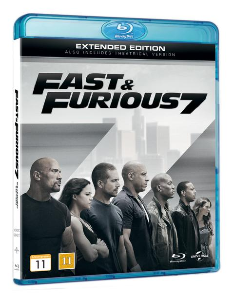 FAST & FURIOUS 7 EXTENDED EDITION - PRESS RELEASE - ON BLU-RAY™ & DVD AUGUST 24TH