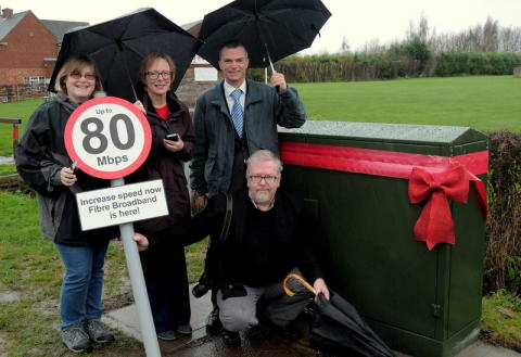 Christmas arrives early for Nottinghamshire village with 350th cabinet unveiled