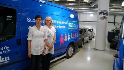 SOS-Lapsikylä ry ja Ford Transit