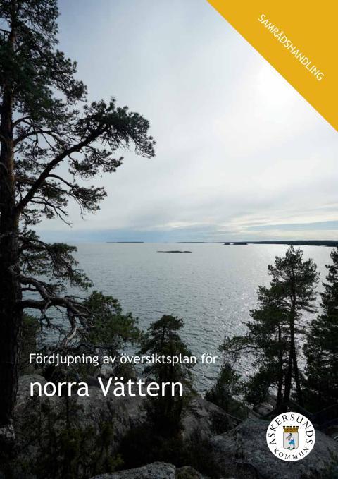 Fördjupad översiktsplan Norra Vättern - Samråd
