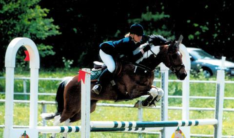 Inför SM i hoppning för ponny och children