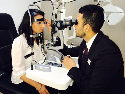 Randeep secures optical career in the blink of an eye with Vision Express
