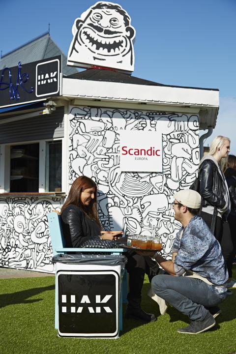 Restaurang HAK - Pop Up på Drottningtorget i Göteborg