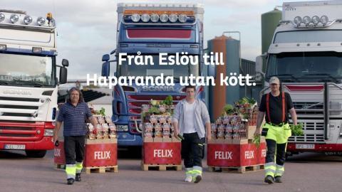 Våga vegetariskt med Felix från Eslöv till Haparanda