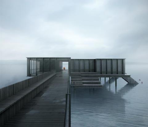 Tävlingen avgjord - White gestaltar Jönköpings nya kallbadhus