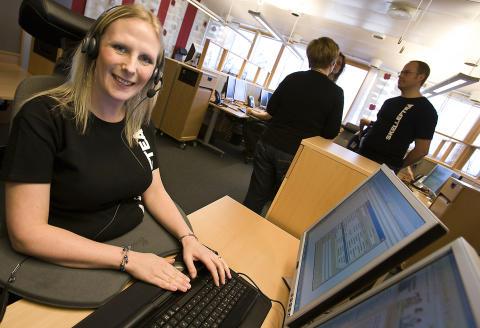 Succéstart för central kundtjänst i Skellefteå