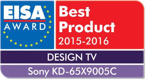 EISA 2015 Best Product Design TV