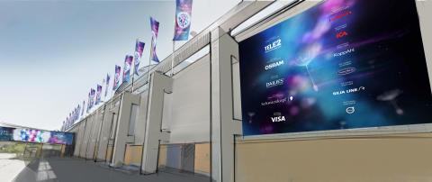 Citydressing Eurovision Song Contest: Globenområdet