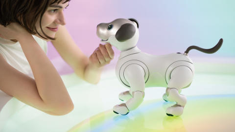 Roboter og kunstig intelligens i bruk under Milan Design Week